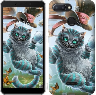 "Чехол на Xiaomi Redmi 6 Чеширский кот 2 ""3993u-1521-19380"""