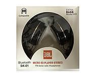 Беспроводные bluetooth наушники JBL SK01
