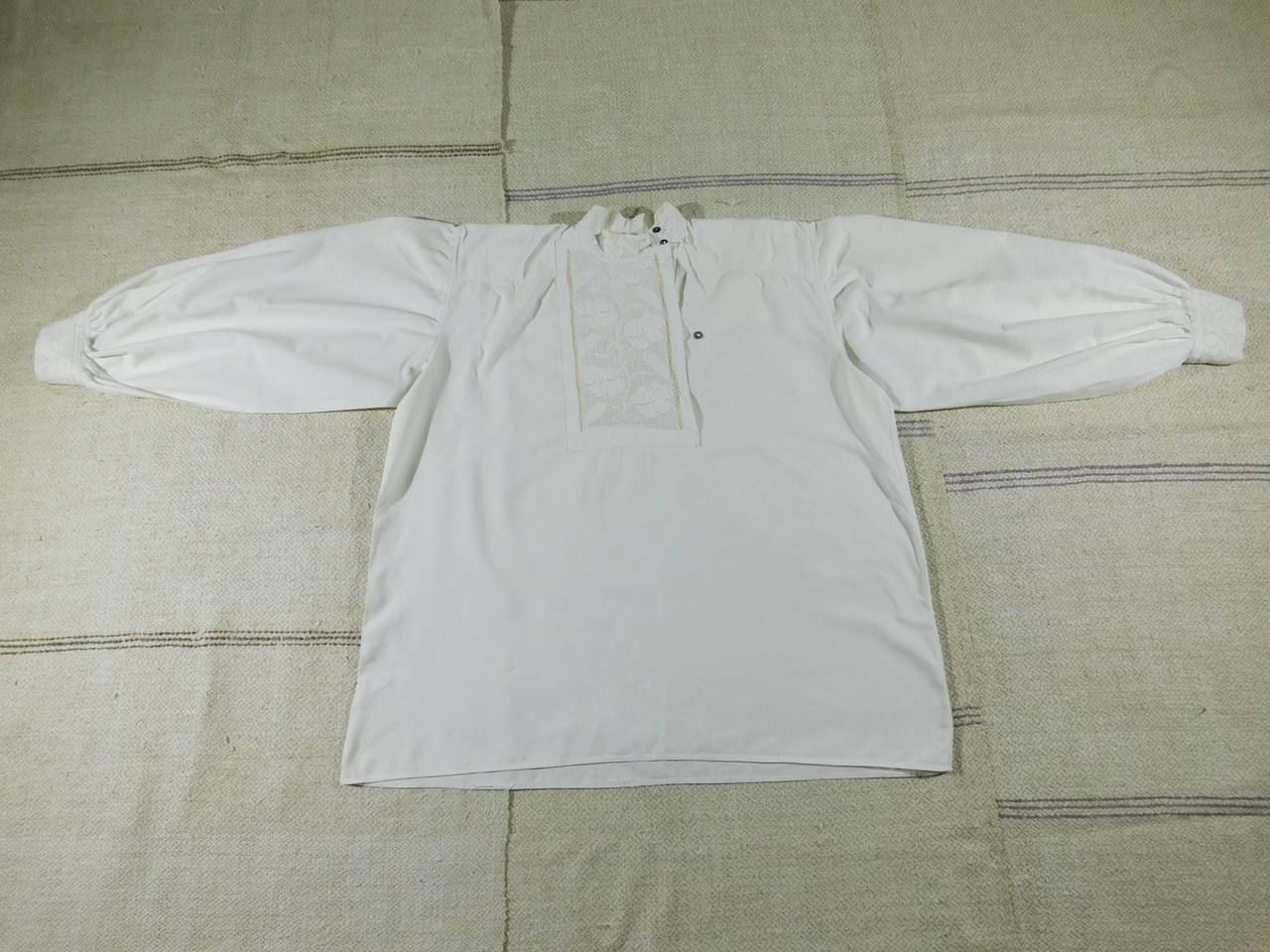 Чоловіча лляна сорочка вишита мережкою. ЧВ-60  продажа faa096f68da63