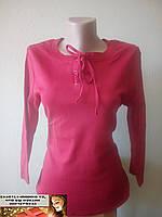 Футболка с длинным рукавом, реглан, блузка  размер 46-48
