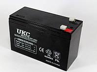 Аккумулятор BATTERY 12V 7A UKC, фото 1
