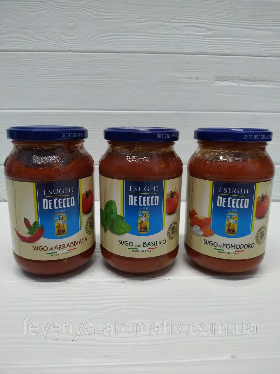 Соус томатный De Cecco 400гр (Италия)