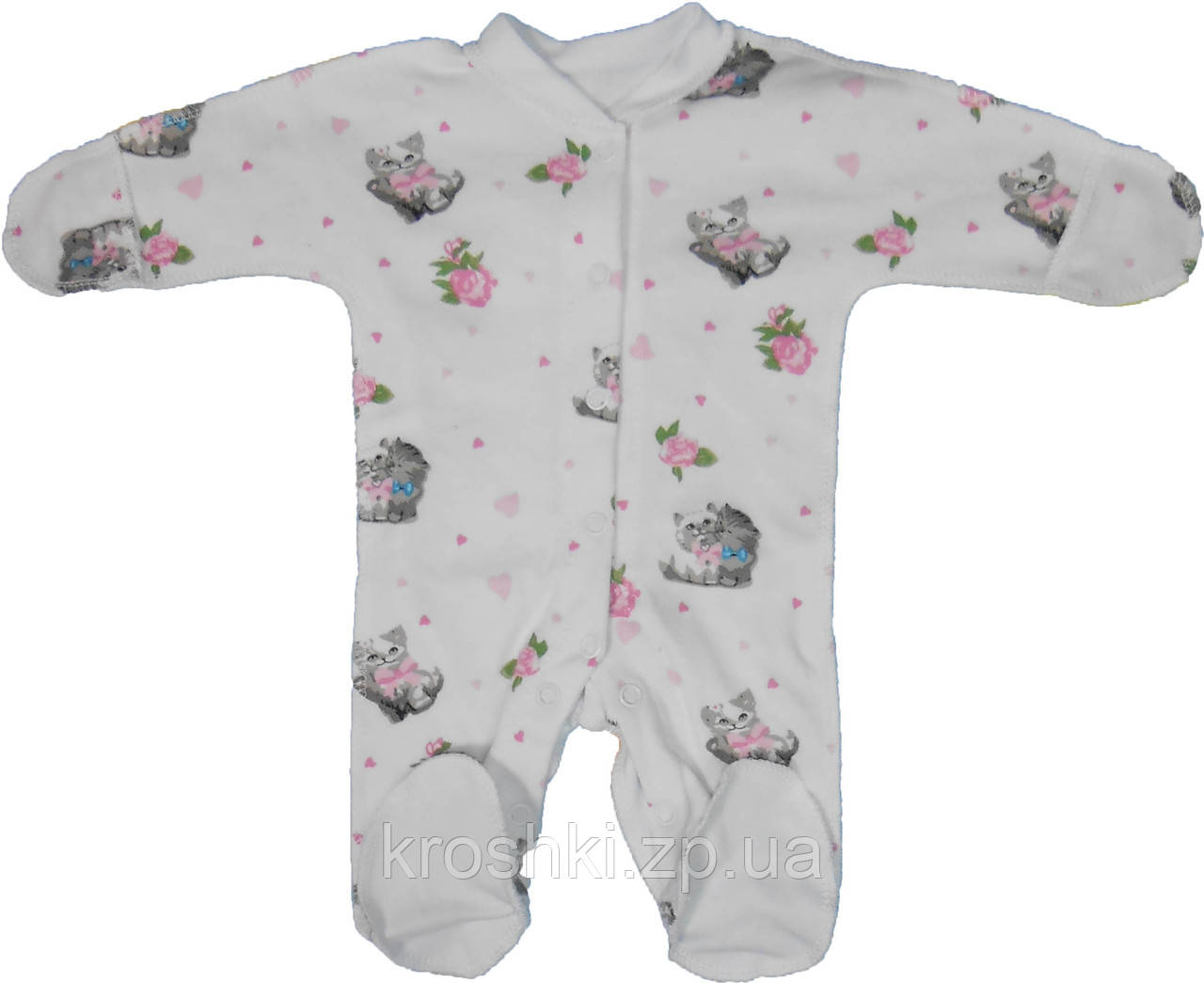 Человечек для маловесных детей интерлок рост 42,46,50, одежда для недоношенных
