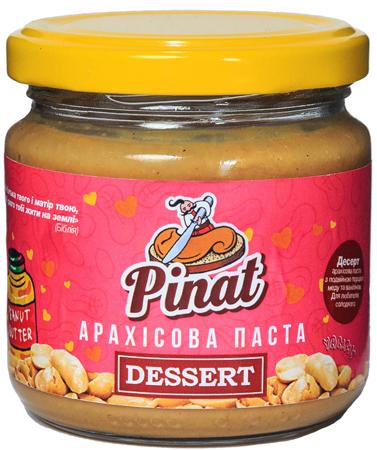Арахисовая паста Pinat - Dessert (500 грамм)