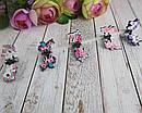 Маленькие детские крабики для волос Единороги 5 шт/уп, фото 3