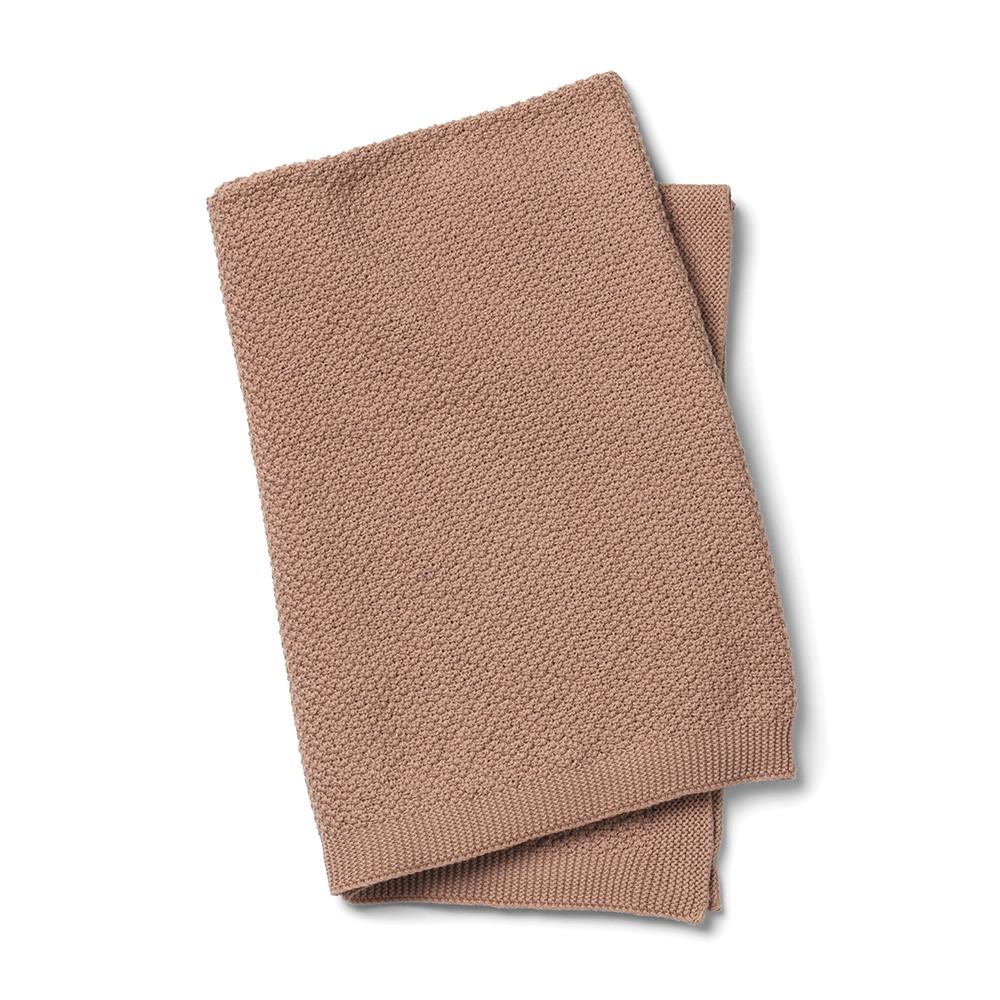 Elodie Details - Вязаное одеяло Oeko-Tex, Faded Rose