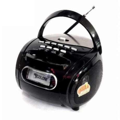 Бумбокс колонка MP3 USB радио Golon RX 186 Black