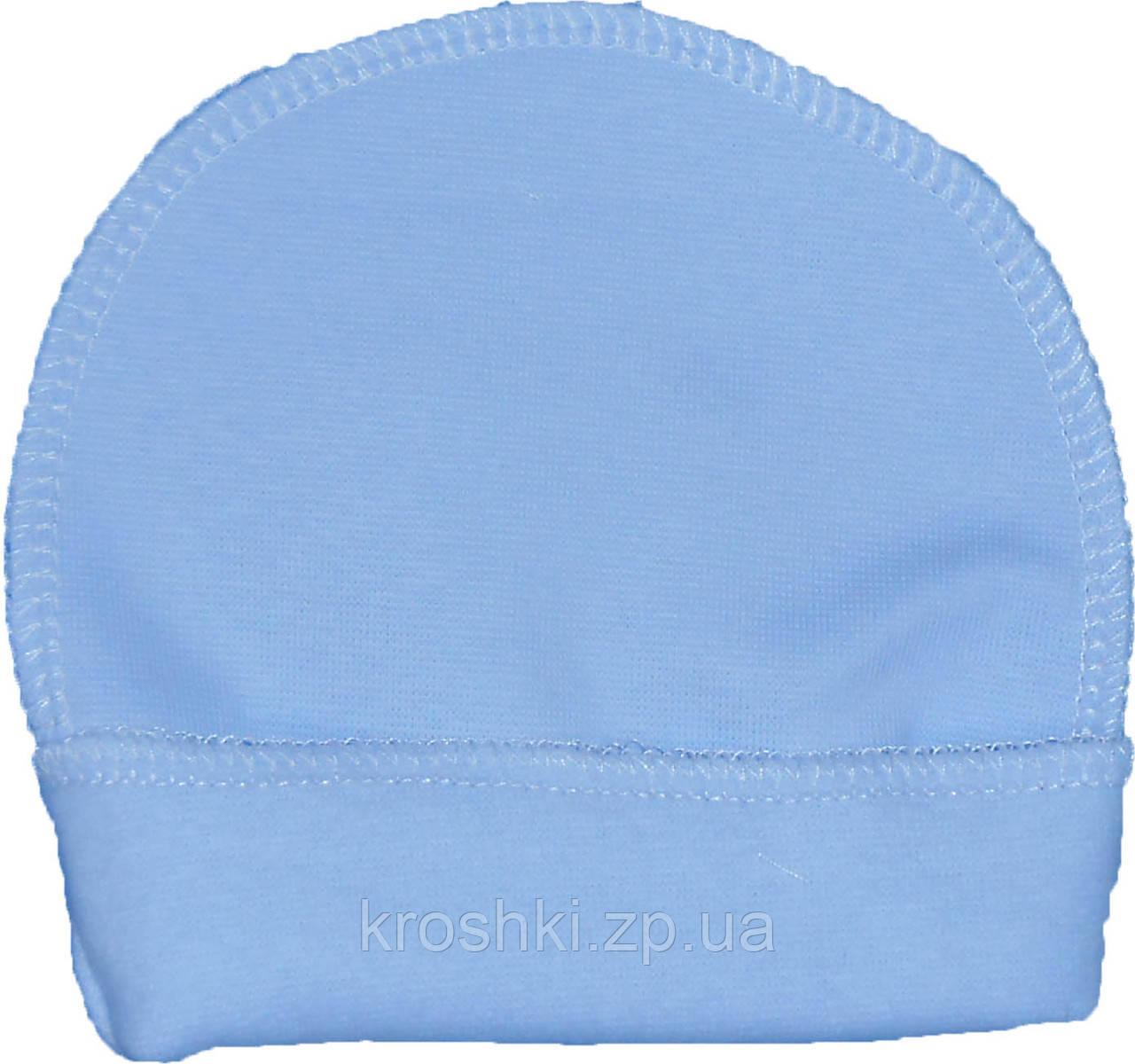 Шапочка для маловесных и недоношенных детей размер 30 на рост 40-50, одежда для недоношенных