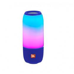 Портативная колонка JBL Pulse 3 Колонка со светомузыкой. Синяя. Blue
