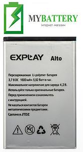 Оригинальный аккумулятор АКБ (Батарея) для Explay ALTO 1600 mAh 3.7V