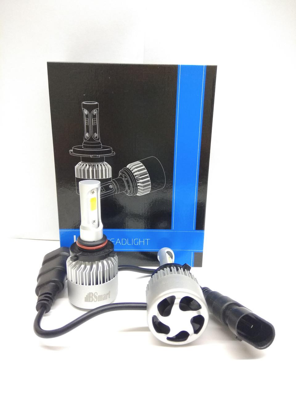 Комплект Автоламп LED S2 COB, HB3 (9005), 8000LM, 72W, 12-24V