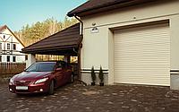 Ворота рулонные подъемные роллетные Alutech, 4000х2200, профиль AG/77 с встроенным монтажом, фото 1
