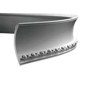 Карниз гнучкий Європласт 1.50.107 F (148x108)мм