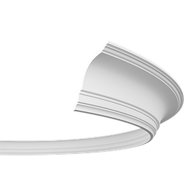 Карниз гнучкий Європласт 1.50.108 F (120x114)мм