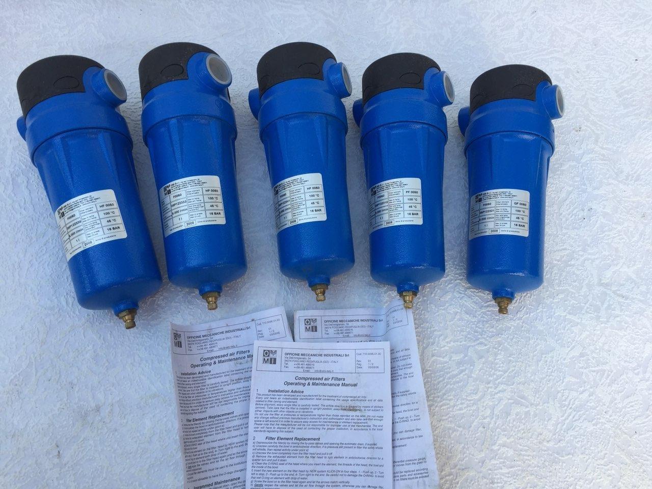 Фильтр магистральный очистки сжатого воздуха AF 0186 S  (0,01 мкр.)