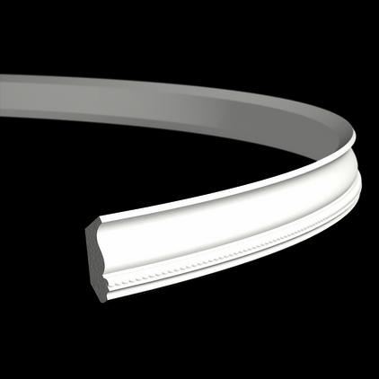 Карниз гнучкий Європласт 1.50.191 F (40x25)мм