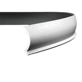 Карниз гибкий Європласт 1.50.220 F (126x122)мм