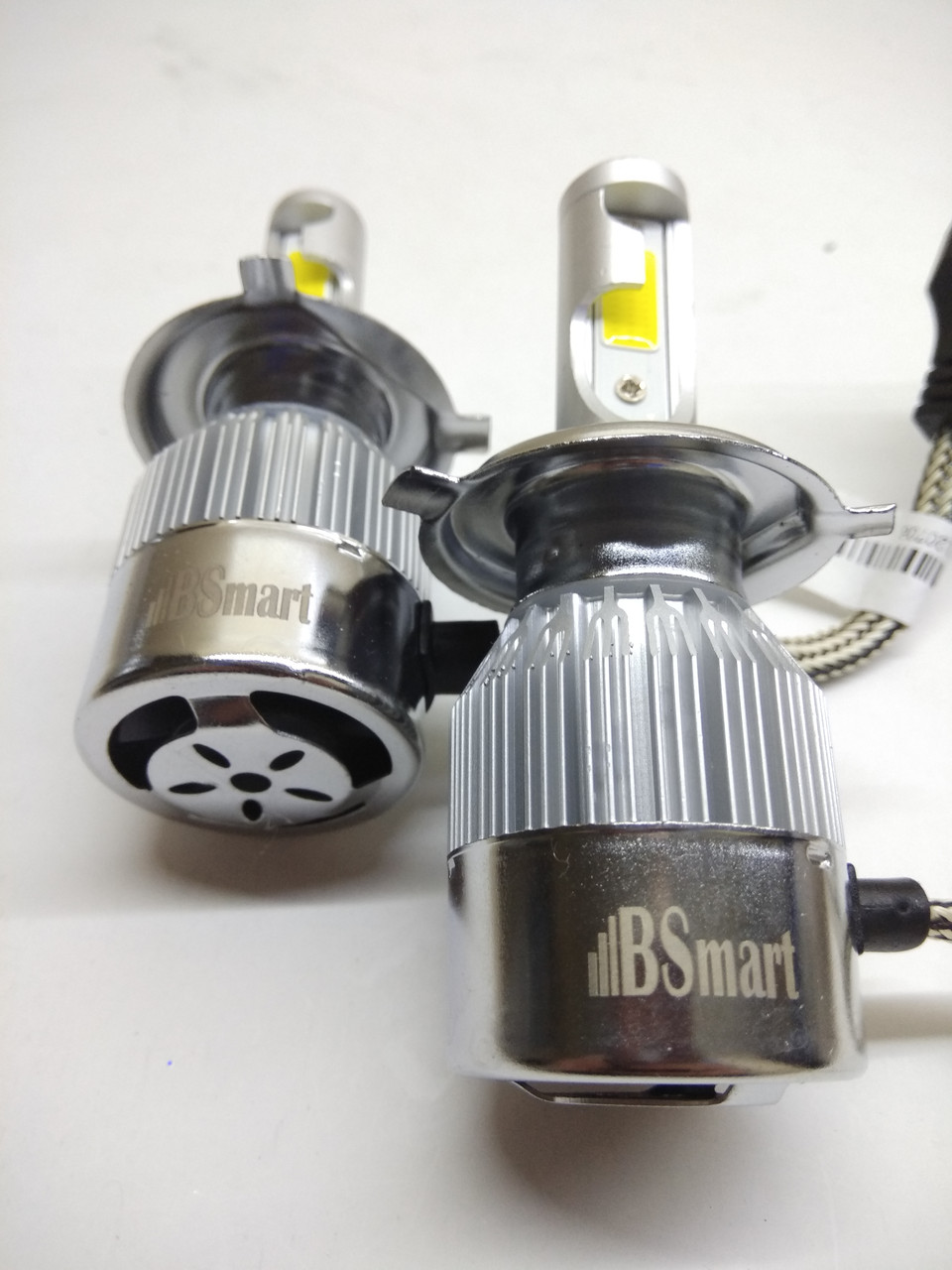 Автолампы LED С6  COB, H4, 7600LM, 6500K, 72W, 12V