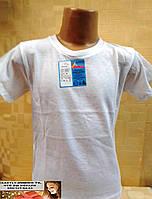 Детская футболка белая 4-12 лет