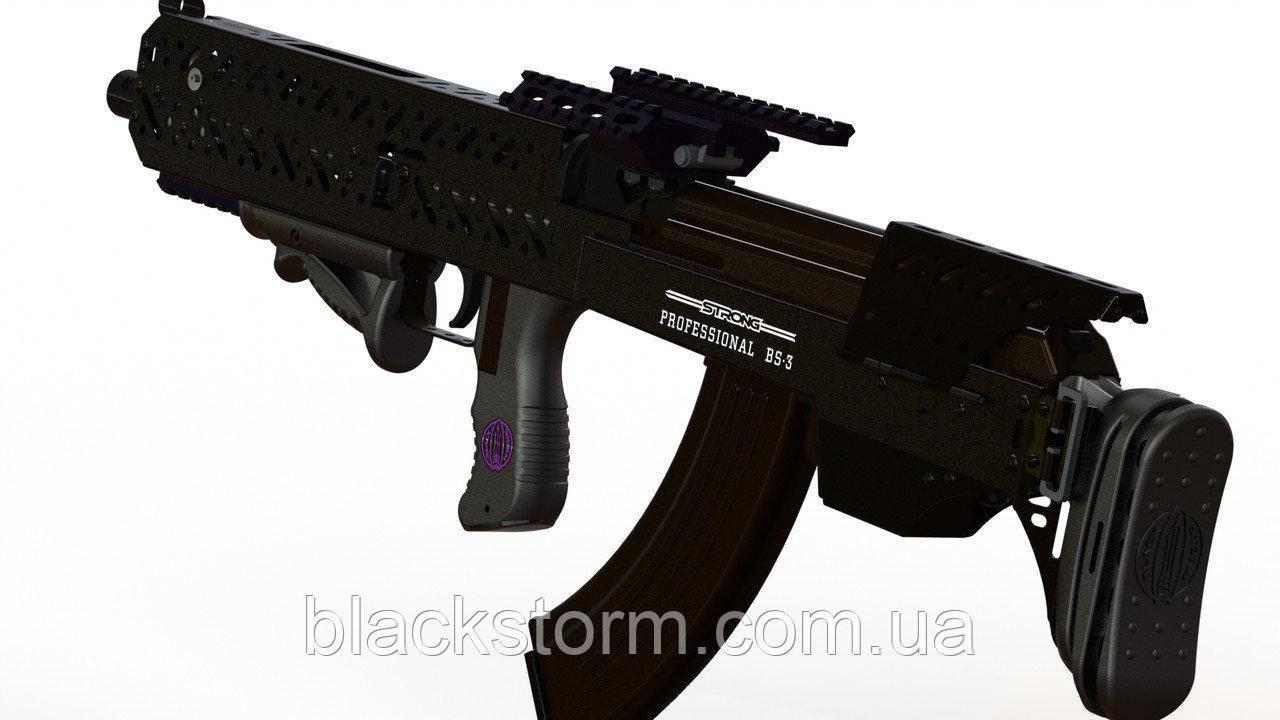 Установка Комплекта буллпап BlackStorm BS-3 на АК47, АК74. Сборка, монтаж, установка bullpup