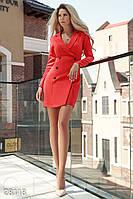 Изящное платье-пиджак