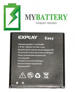 Оригинальный аккумулятор АКБ (Батарея) для Explay EAZY 1300 mAh 3.7V