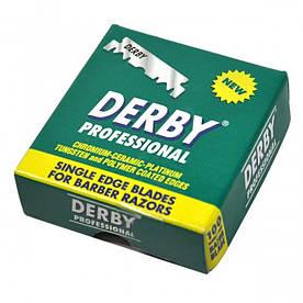 Лезвия Derby Professional Половинки 100 Шт