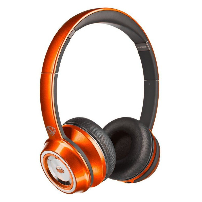 Наушники Monster® NCredible NTune On-Ear - Candy Tangerine