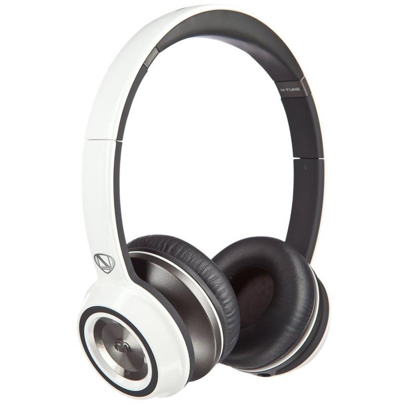 Наушники Monster® NCredible NTune On-Ear Headphones - Frost White