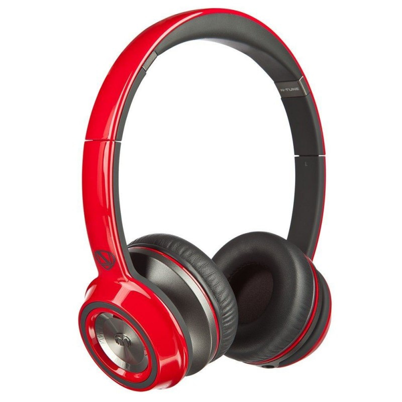 Наушники Monster® NCredible NTune On-Ear Headphones - Cherry Red