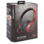 Наушники Monster® NCredible NTune On-Ear Headphones - Cherry Red, фото 2