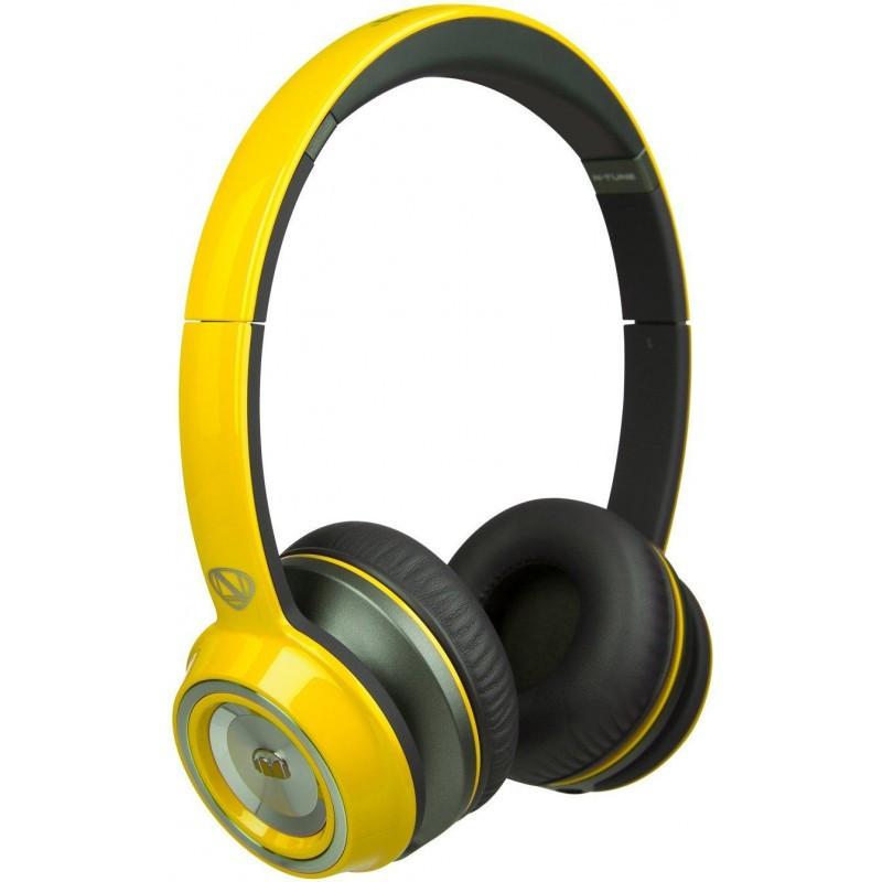Наушники Monster® NCredible NTune Solid On-Ear Headphones - Solid Yellow