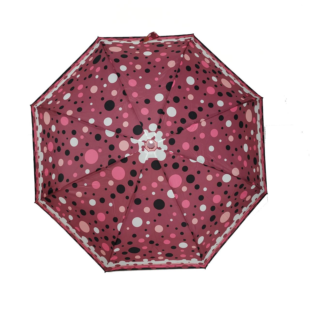 """Жіночий парасольку-напівавтомат на 8 спиць, від SL """"Fantasy"""", 35006-1"""