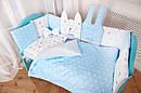 "Комплект в ліжечко для новонароджених ""Кися-Зая"", фото 2"