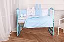 "Комплект в ліжечко для новонароджених ""Кися-Зая"", фото 4"