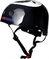 Шлем детский Kiddi Moto бильярдный шар, размер M 53-58см, чёрный