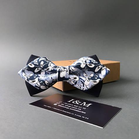 Галстук-бабочка I&M Craft с острыми концами (100103N), фото 2