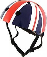 Шлем детский Kiddi Moto британский флаг, размер M 53-58см