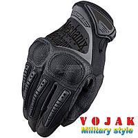 Тактические перчатки Mechanix M-Pact с кастетом (Black)