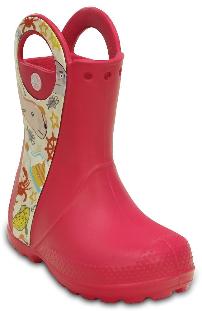 Сапожки Crocs Handle it rain boot kids C12