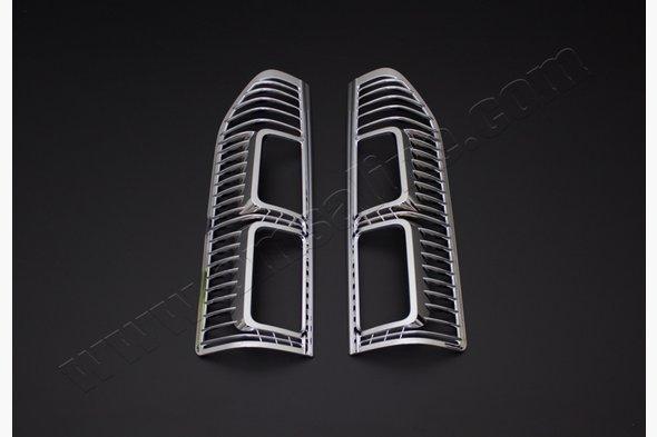 Накладки на стопы (2 шт, пласт) Opel Vivaro 2015↗ гг.
