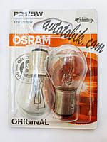 Автомобильная лампочка Osram Original line 7528-02B P21/5W 12V (1 штука), фото 1
