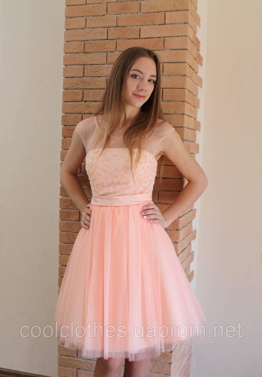57e3715213f Нежное платье на выпускной вечер - Интернет-магазин