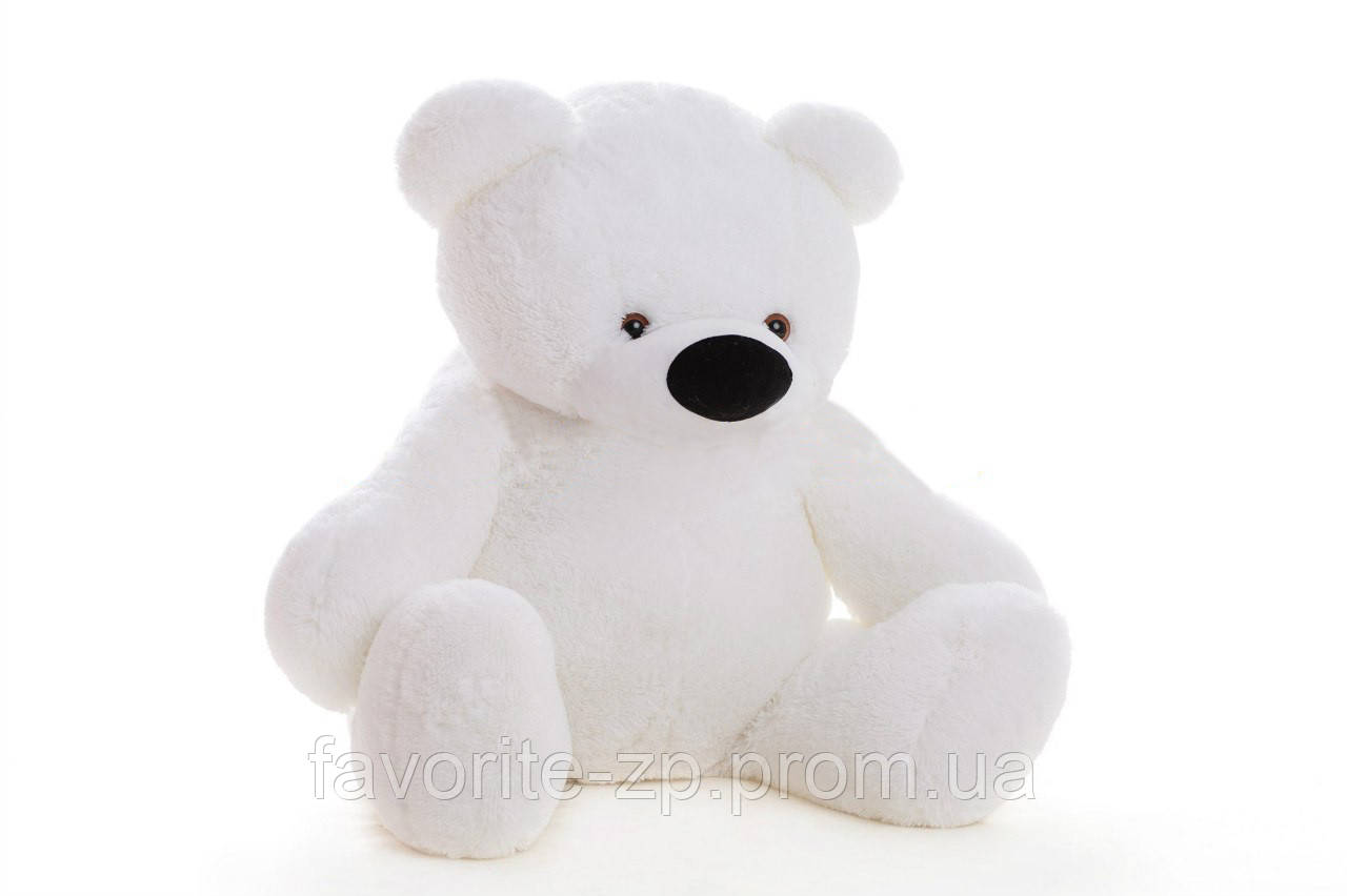 Большой плюшевый Медведь Алина Бублик 180 см белый