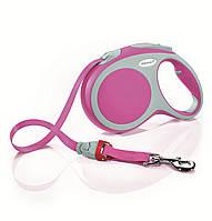 Flexi VARIO L 5м/60кг, лента - поводок-рулетка для собак