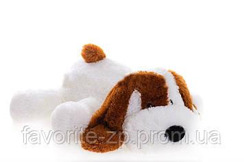 Собачка Алина Шарик 55 см белый