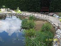 Строительство водоемов и искусственных водопадов на садовом участке