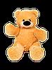 Плюшевый медведь Бублик 45 см медовый, фото 2