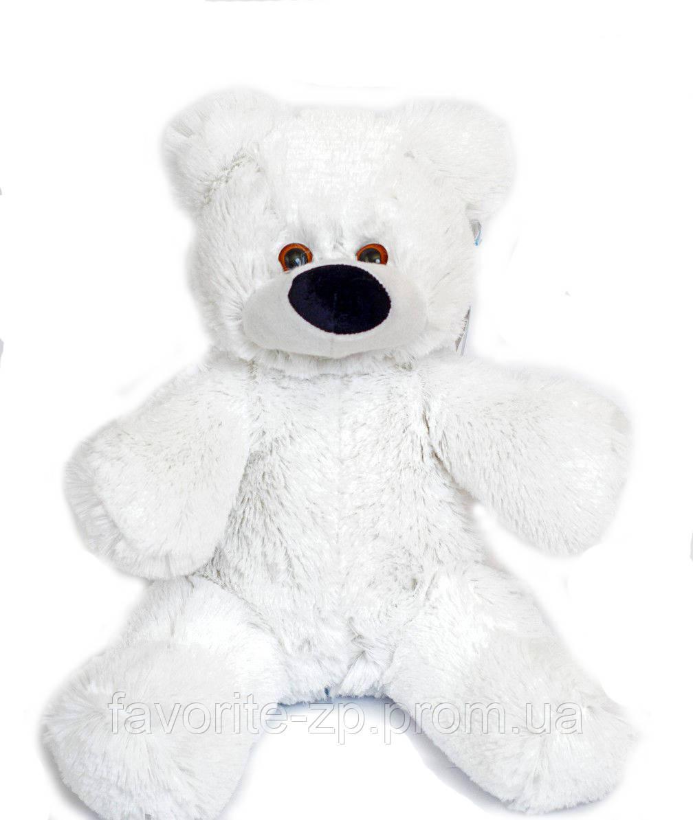 Плюшевый мишка Алина Бублик 55 см белый