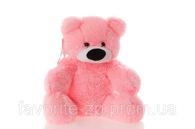 Мягкая игрушка мишка Алина Бублик 70 см розовый